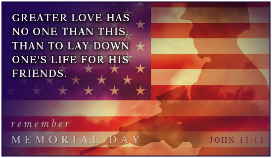 Memorial Day Cards Messages