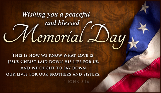 Memorial Day Christian Messages