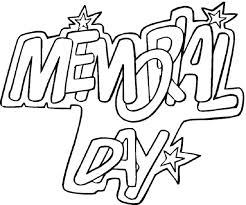 Memorial Day Coloring Pages PDF
