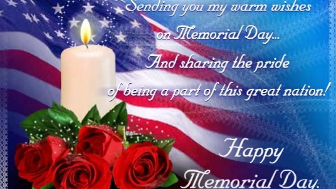 Memorial Day Greeting Wishes