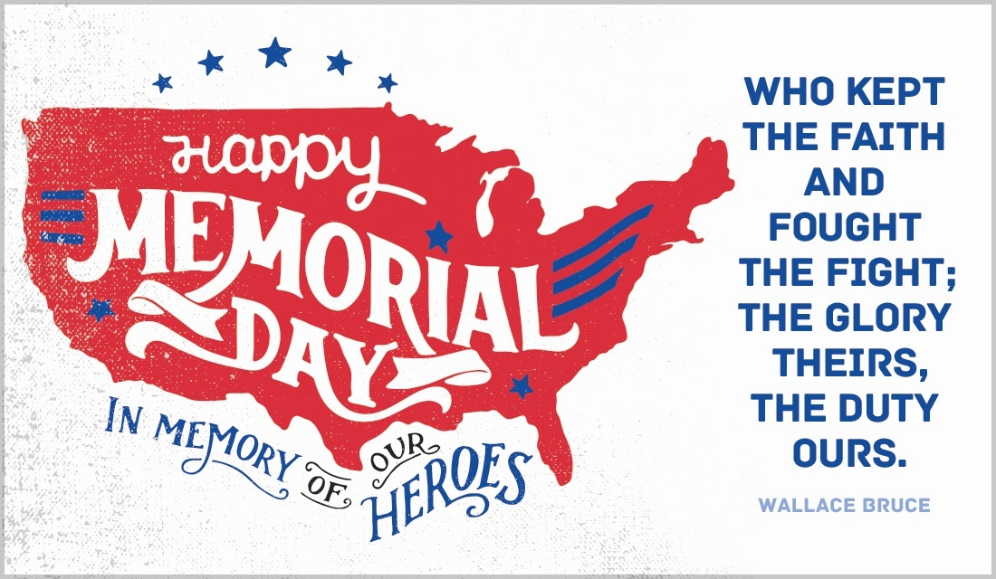 Memorial Day Greetings eCards