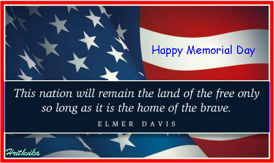 Memorial Day Greetings for Facebook
