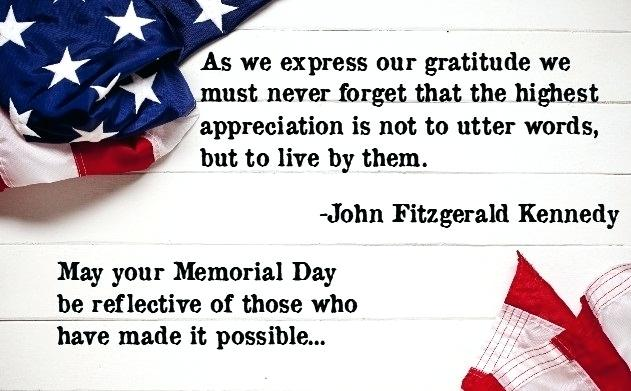 Memorial Day Happy Quotes