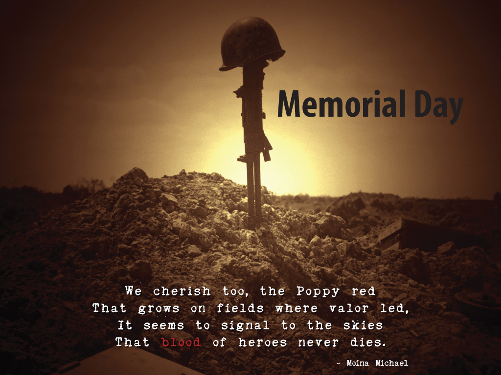 Memorial Day Poems Saying