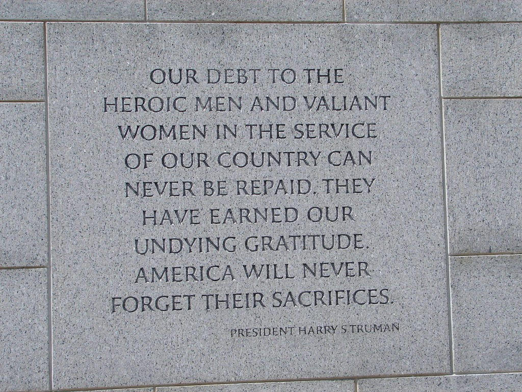 Memorial Day Saying Thank You Quotes