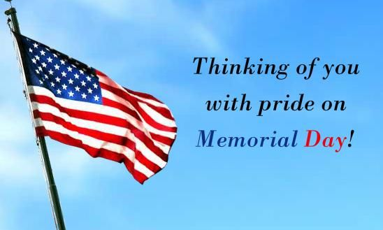 Memorial Day Weekend Messages