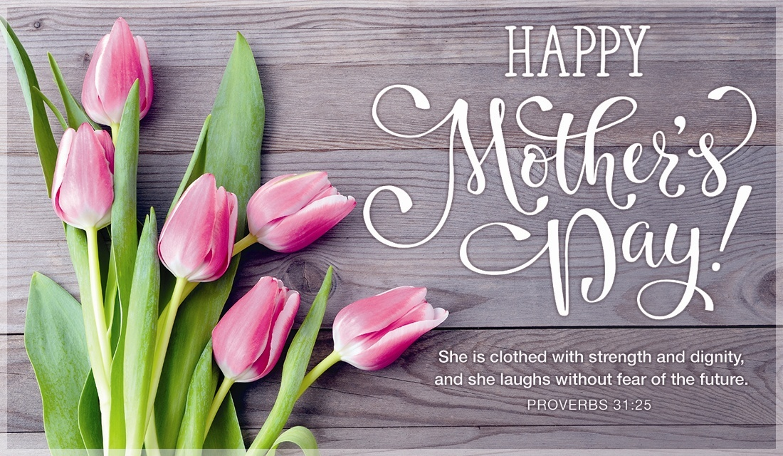 Mother's Day Greeting WIth Cute Flower