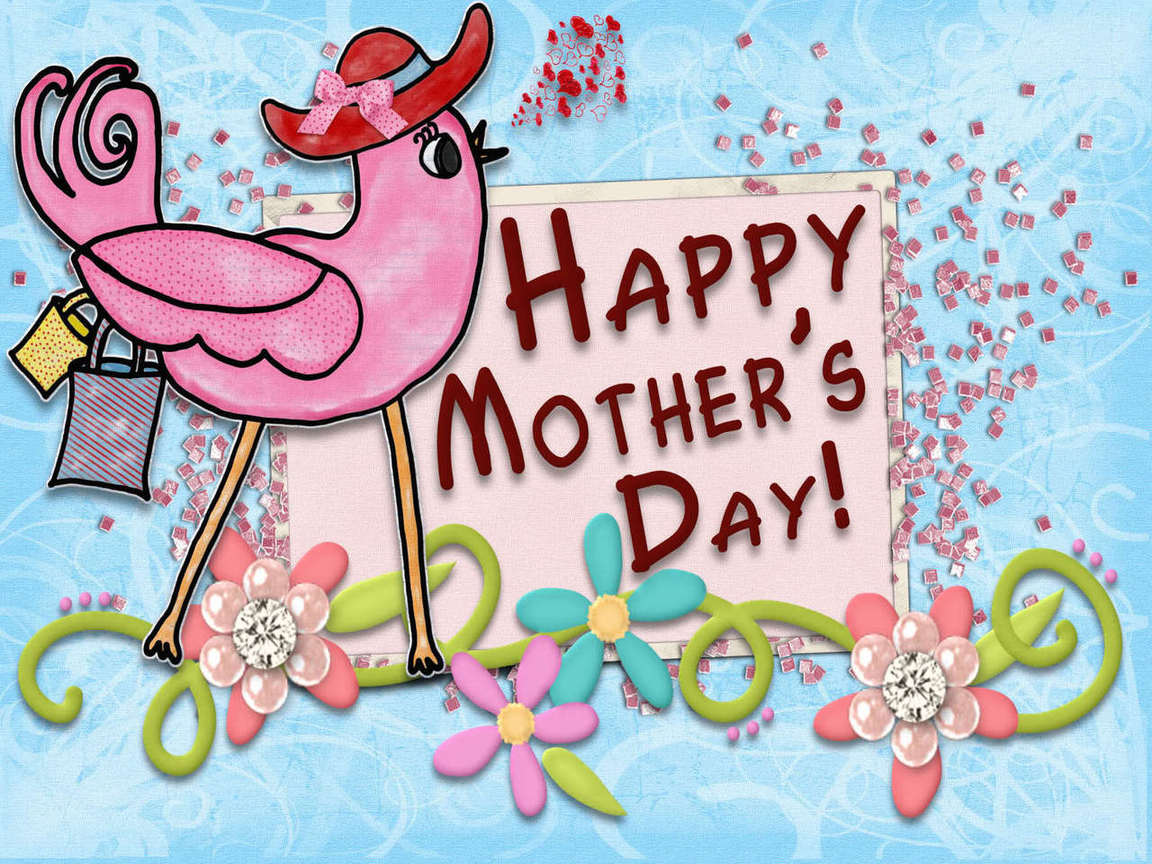 Mother's Day Wallpaper with Flower Cute