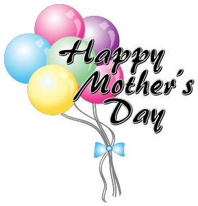 Mothers Day Clip Art Balloons