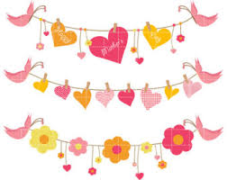 Mothers Day Clip Art Banner