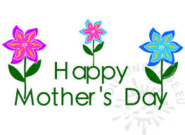 Mothers Day Clip Art With Flower
