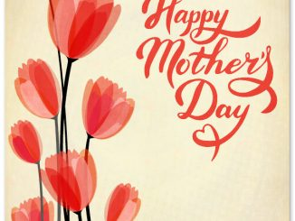 Mothers Day Flower Greeting