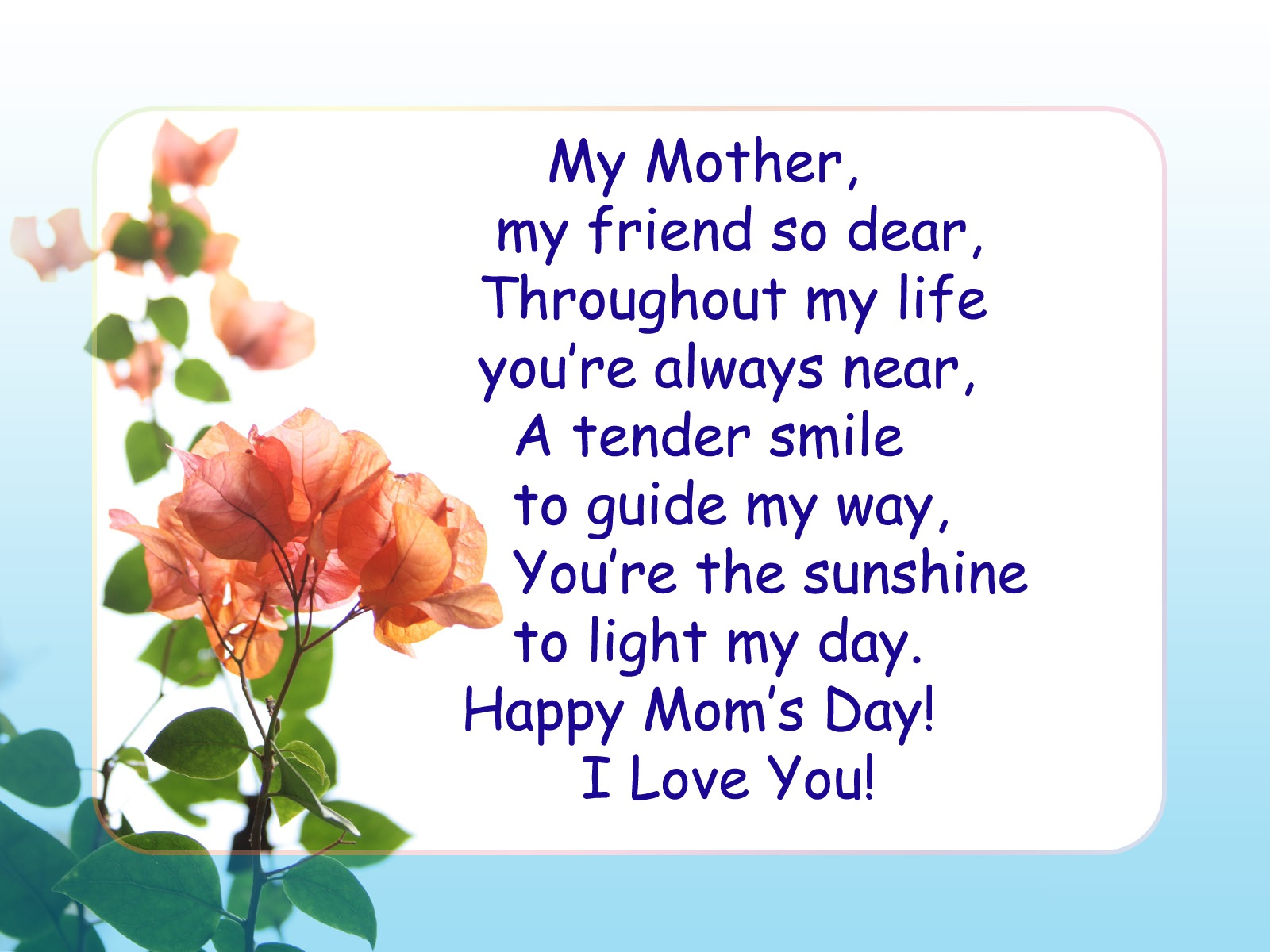 Mothers Day Inspirational Quotes