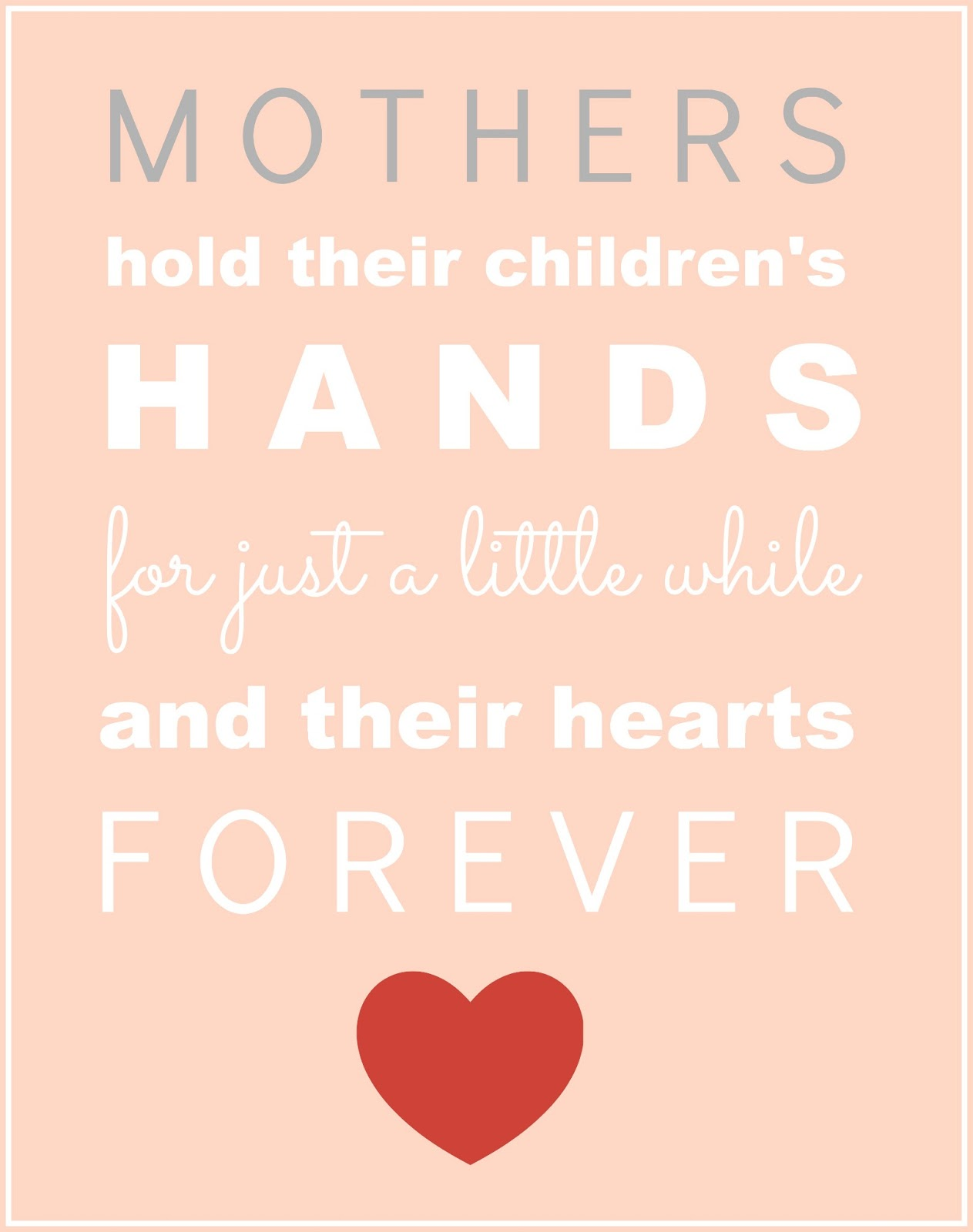 Mothers Day Poster Ideas