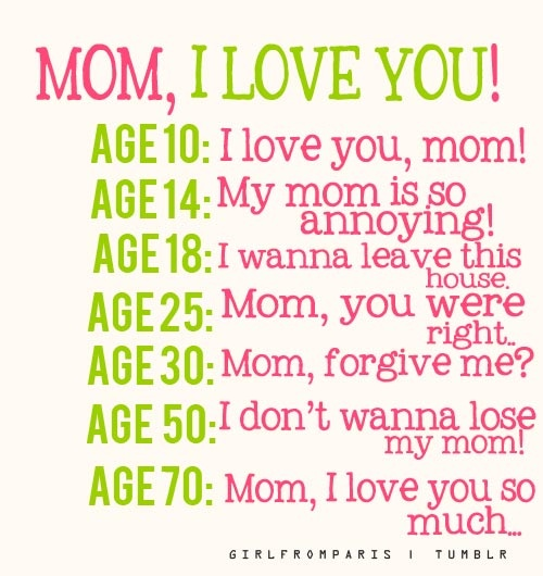 Mothers Day Quotes From Teenage Daughter