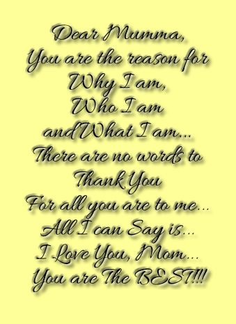 Mothers Day Thought for Facebook