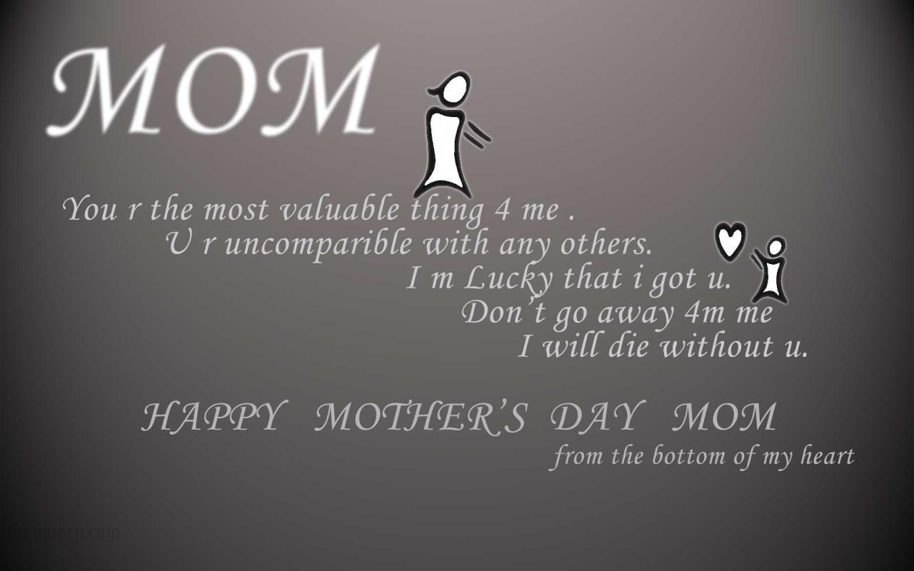 Mothers Day Wishes Message
