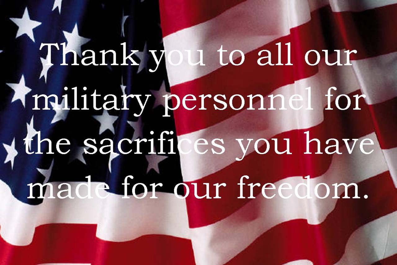 Thank You Memorial Day Messages