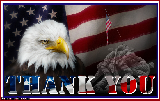 Thank You Memorial Day Wishes