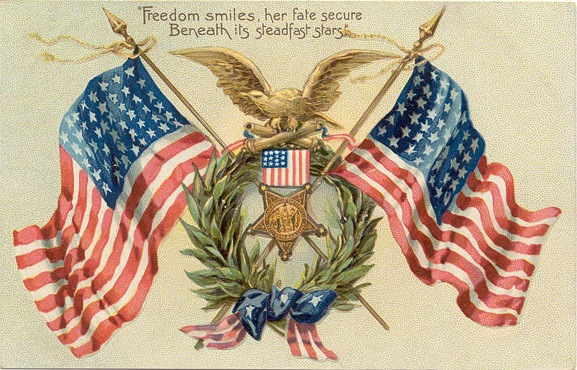 Vintage Memorial Day Greetings