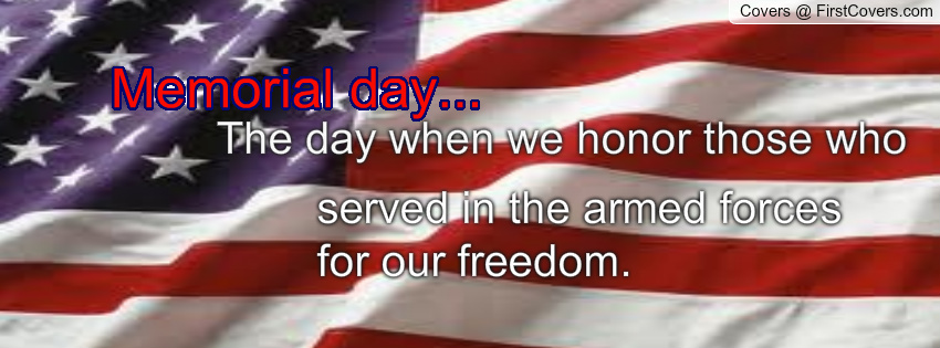 World Memorial Day Facebook Cover Images