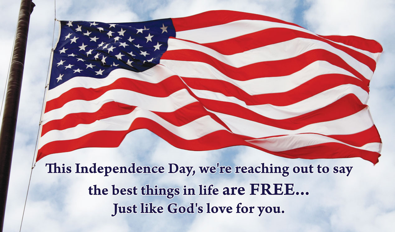 4th of July American Independence Day Cards