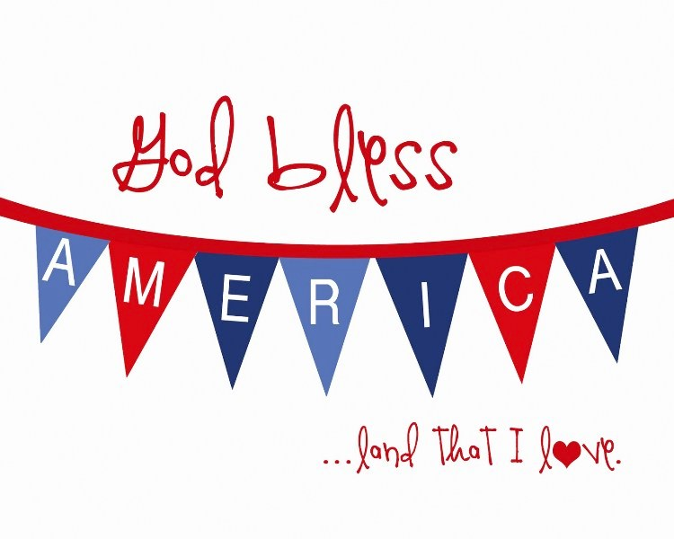 4th of July Border Clipart