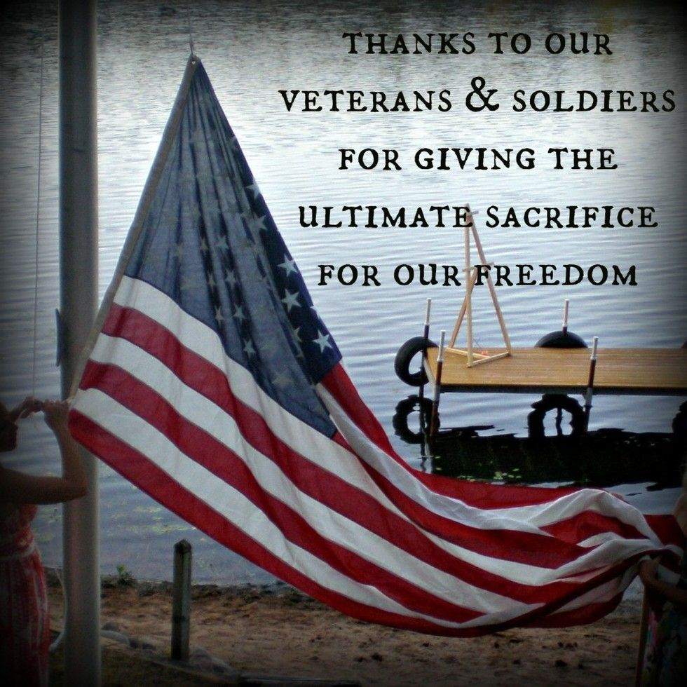 4th of July Meme Thanks to Our Veterans and Soldiers For Giving the Ultimate Sacrifice For Our Freedom