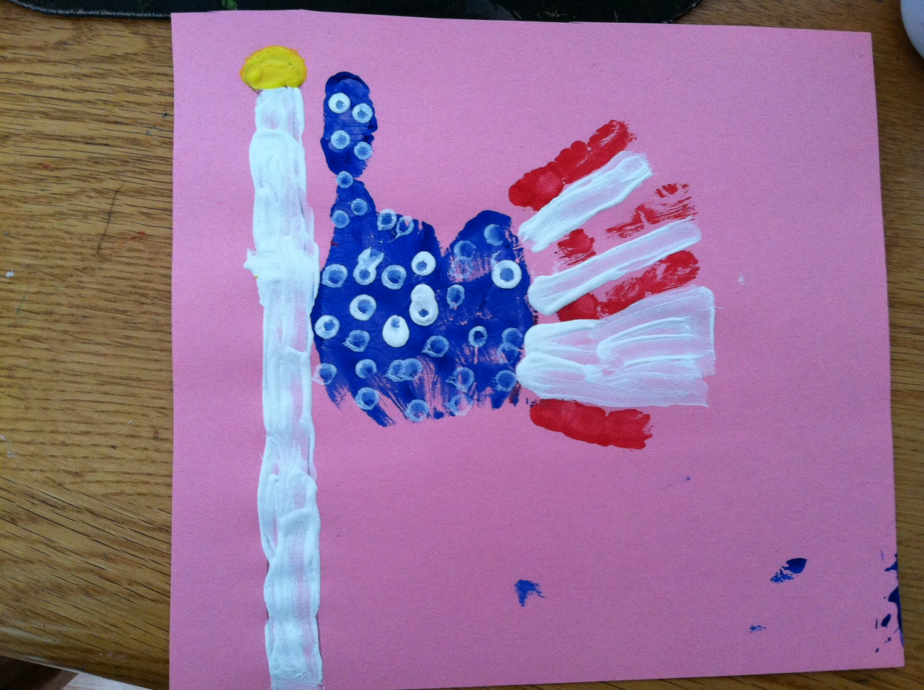 4th of July Pics Handmade Drawing Free Download