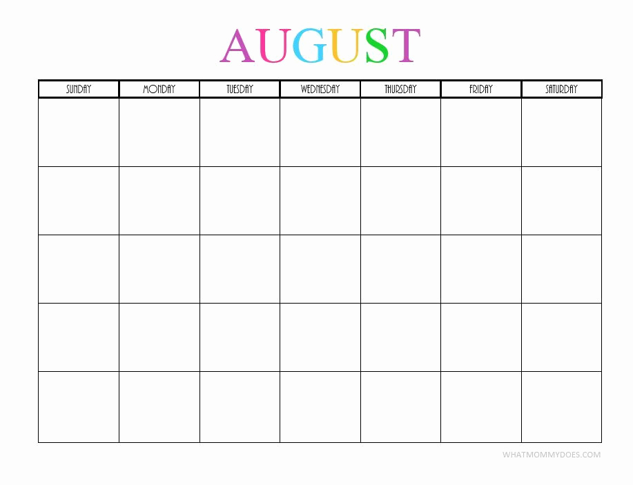 photo about Printable Calendar Aug called August 2019 Printable Calendar with Editable Notes