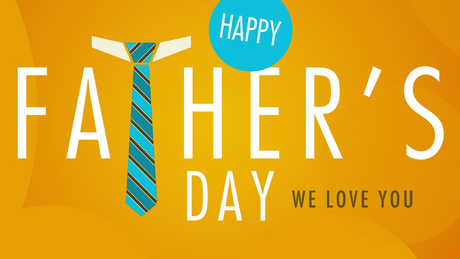 Best Fathers Day Background With Tie