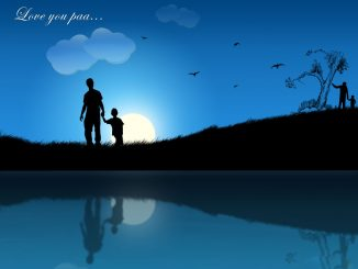 Fathers Day Background With Beautiful Sun Wallpaper