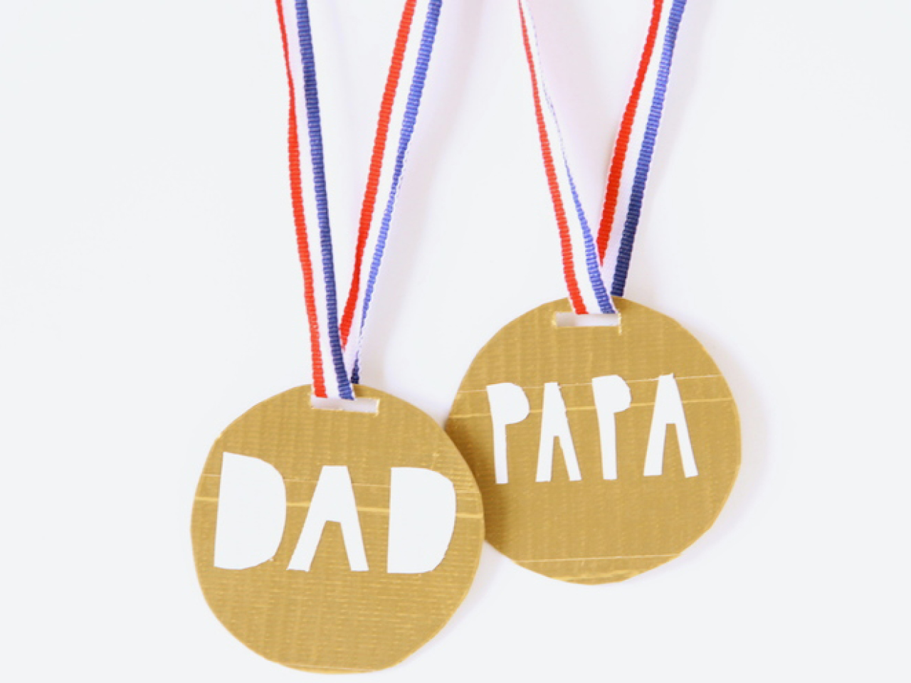 Fathers Day Craft For Kids Medal