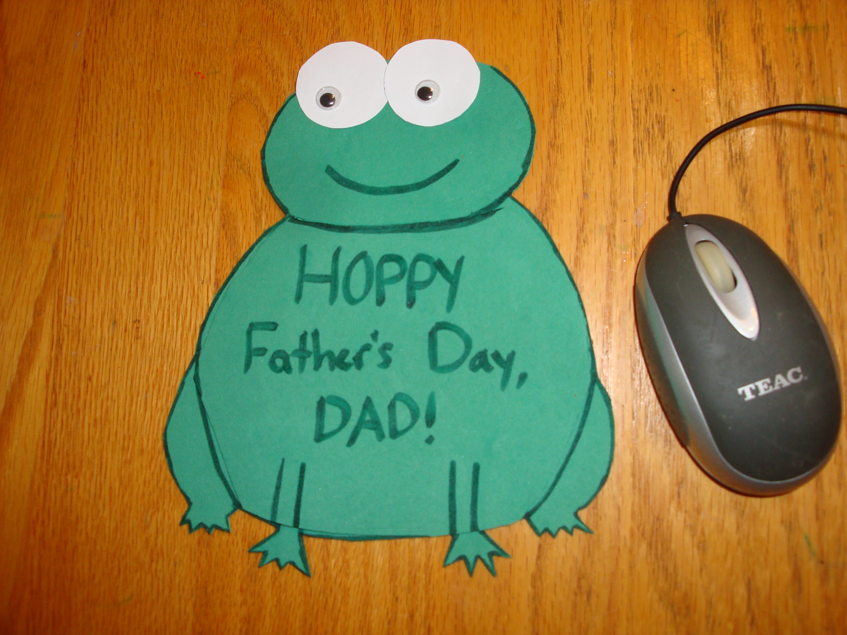 Fathers Day Craft Mouse Pad
