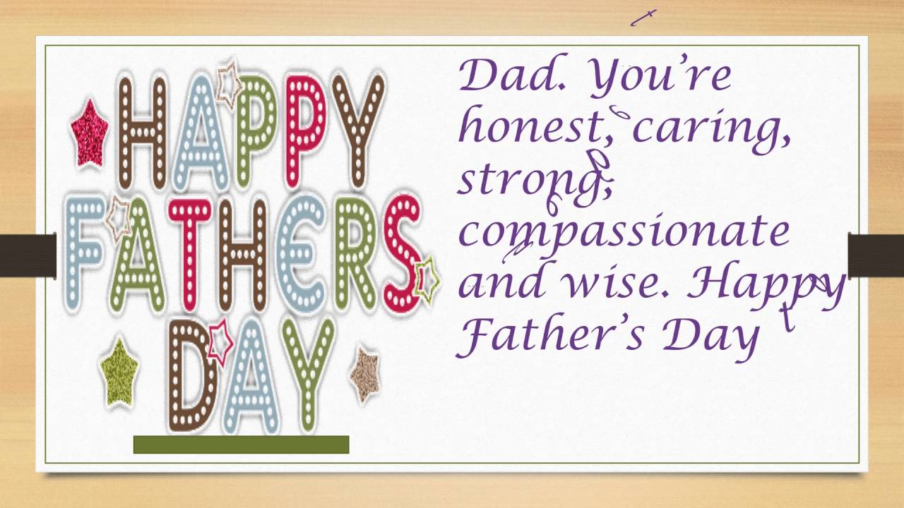 Fathers Day Greetings Cards Messages