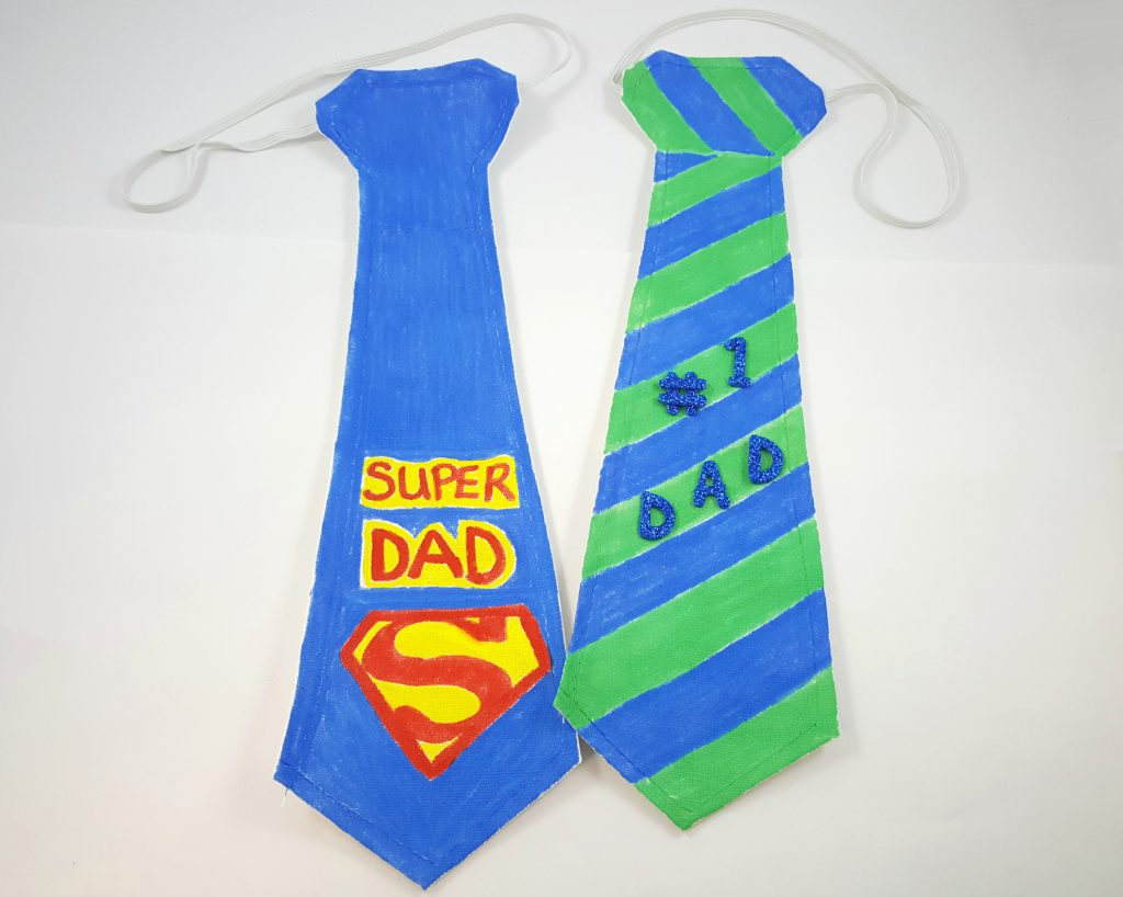 Fathers Day Group Craft Activities Tie