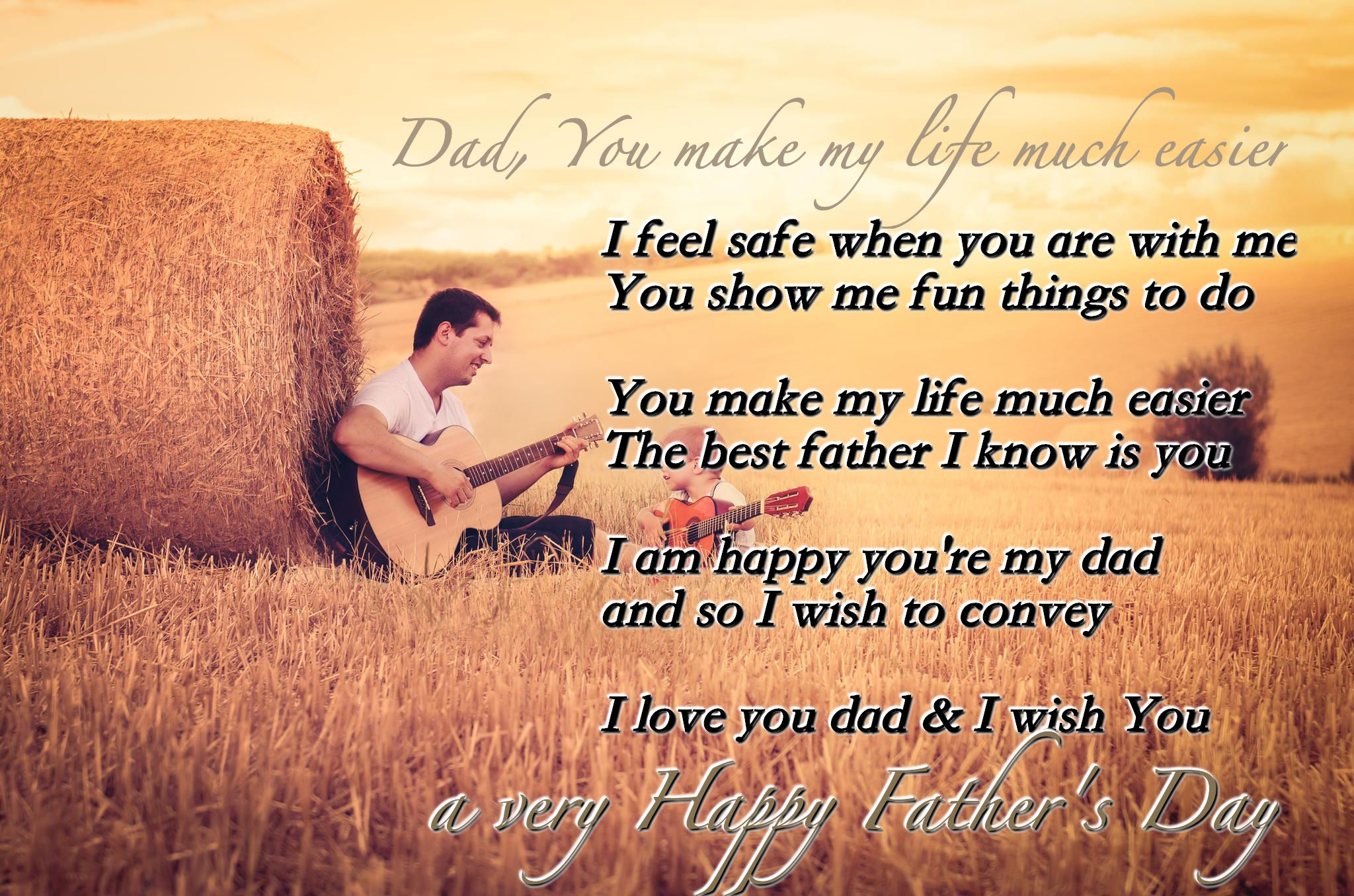 Best Fathers Day Images From Daughter and Son Relationship