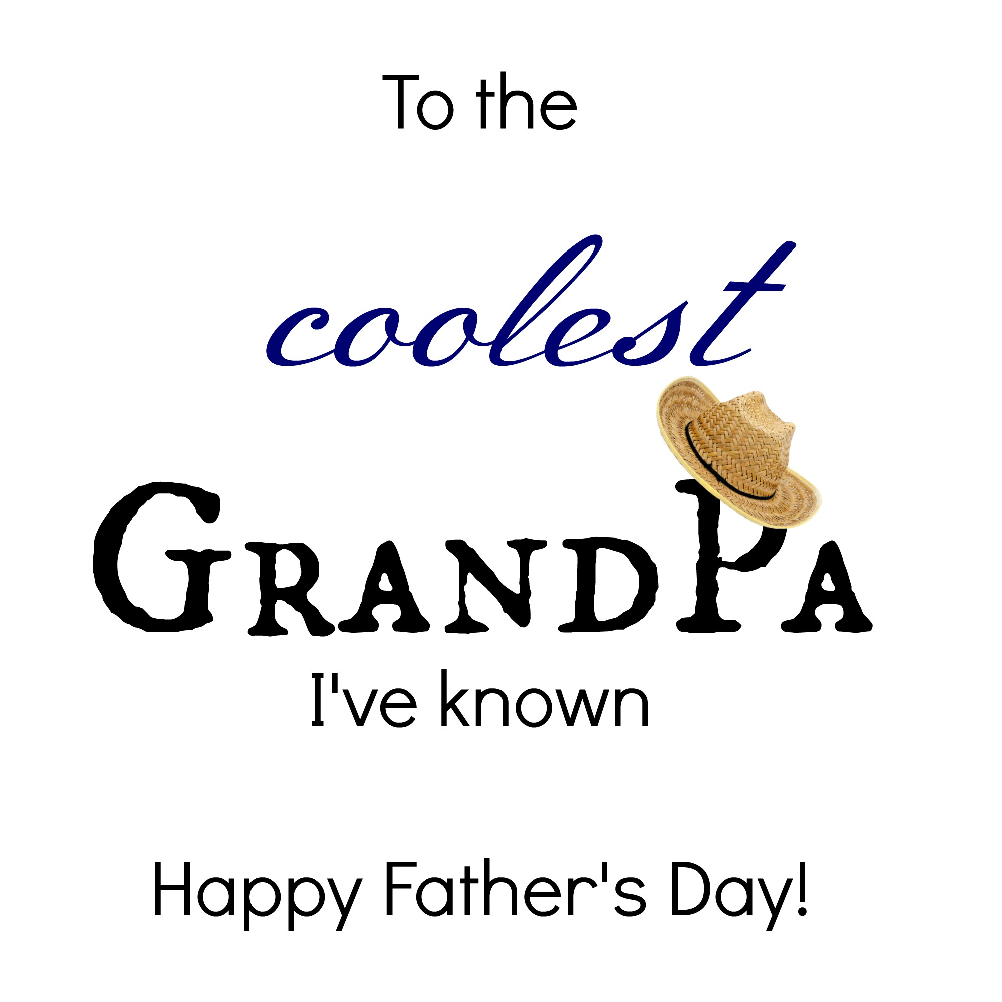 Free Printable Fathers Day Greetings For Grandpa