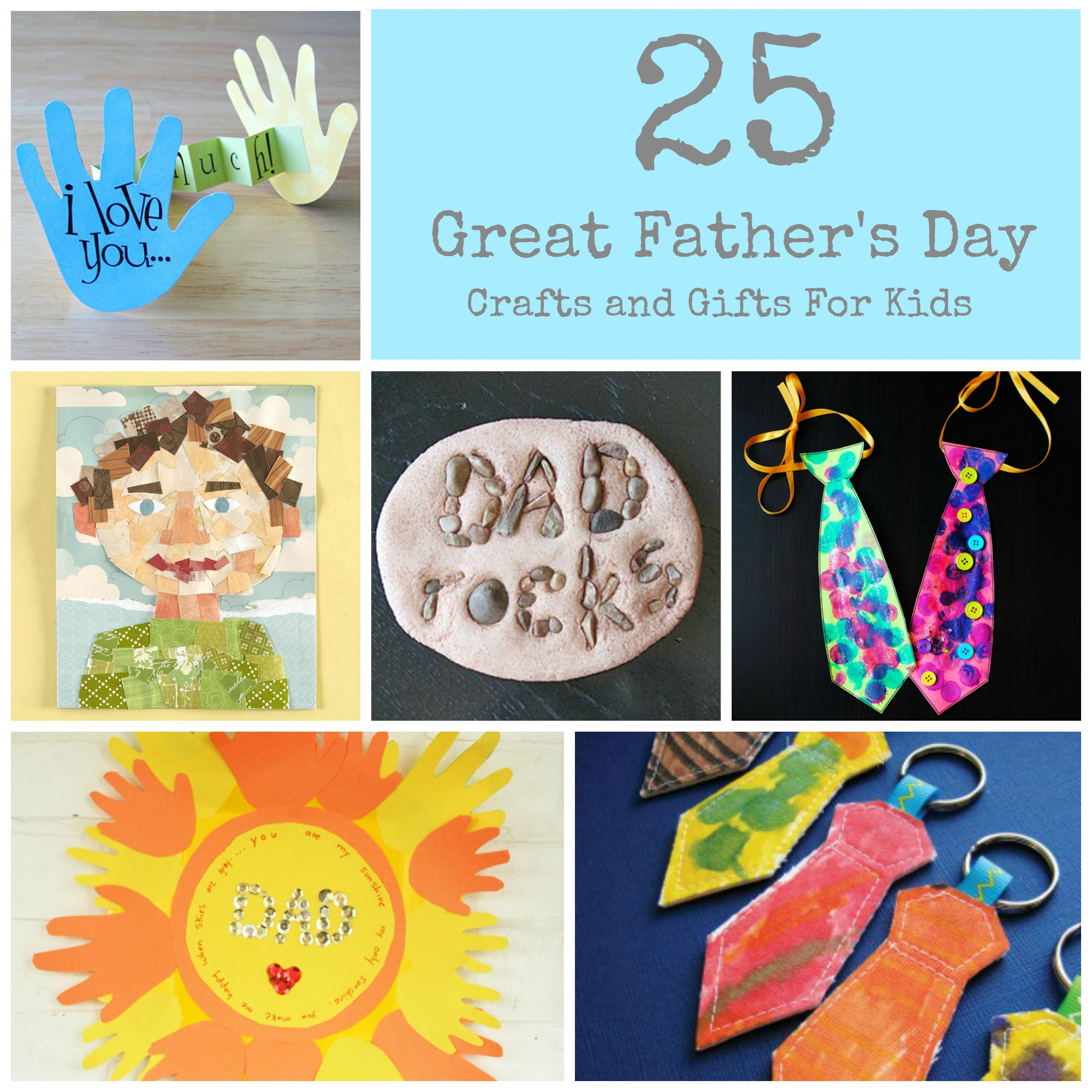 Great Fathers Day Craft Ideas