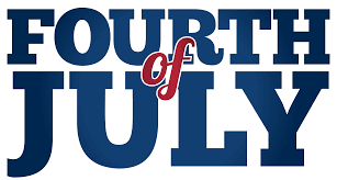Happy 4th of July American Day Clipart