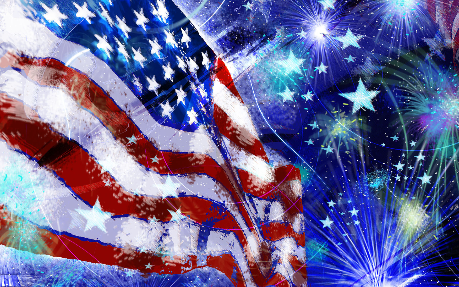 Free Happy 4th of July Images For Facebook and Twitter