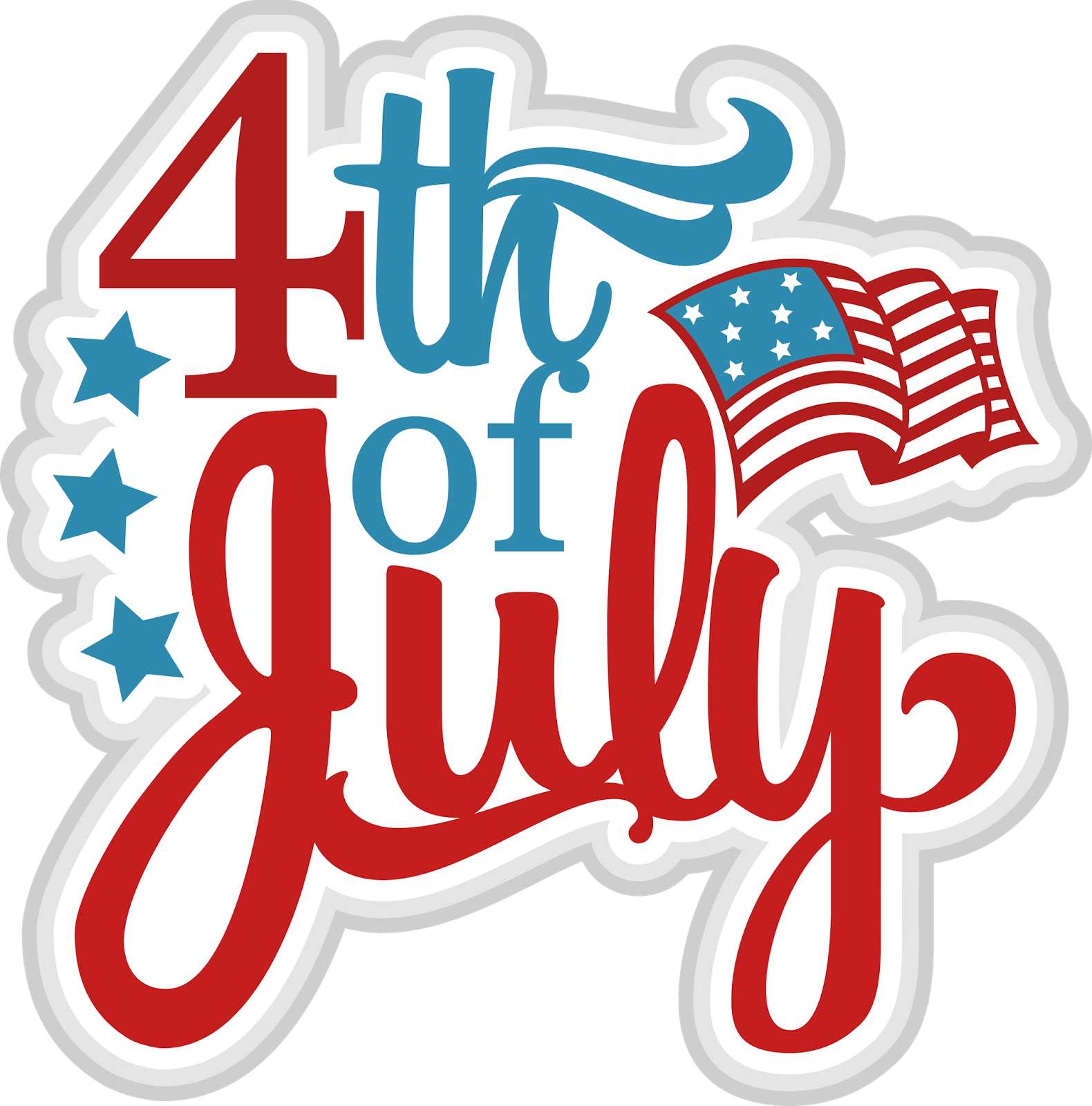 Happy 4th of July Clipart Images