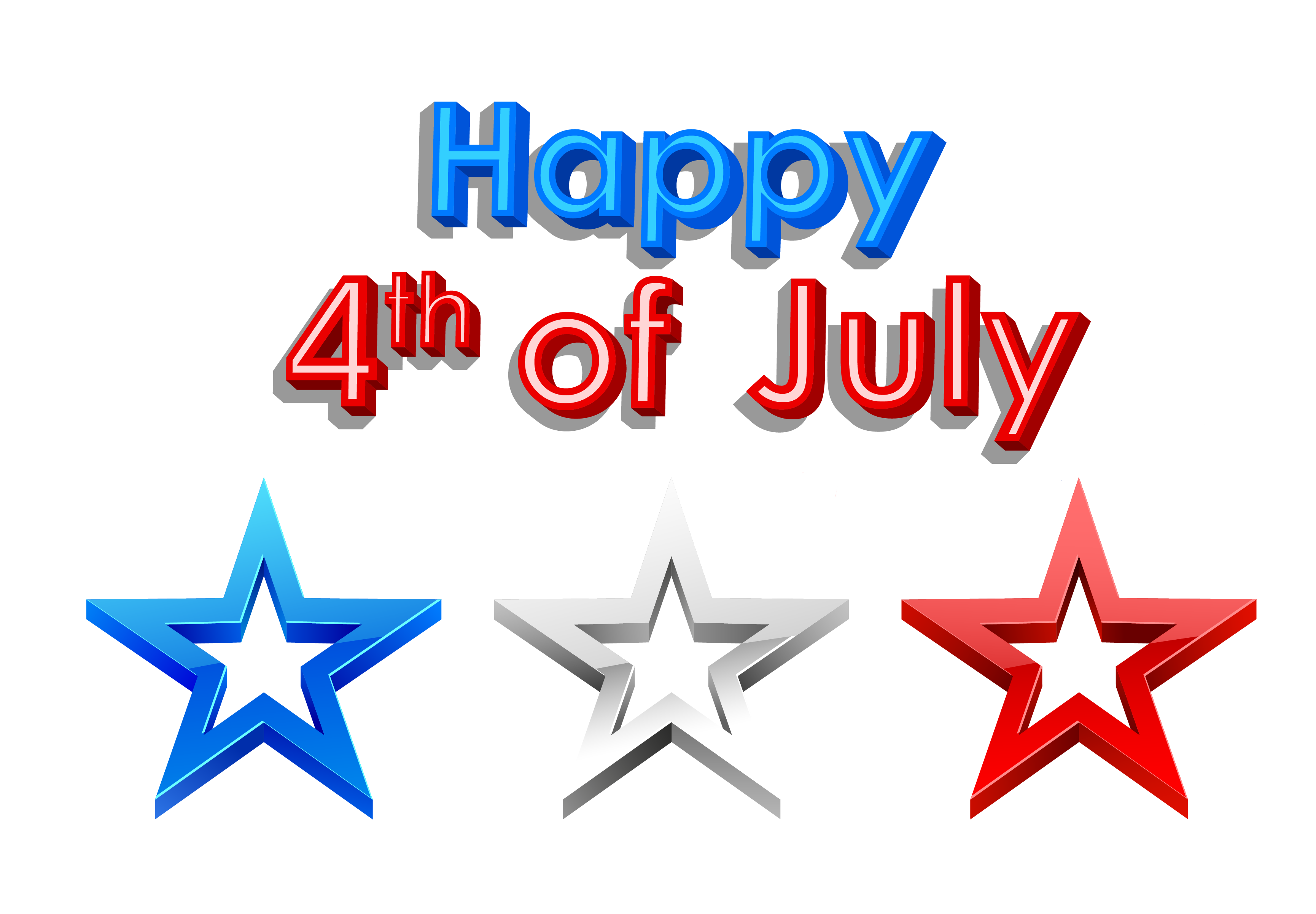 Happy 4th of July Clipart Pics Free