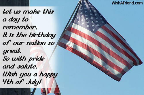 Happy 4th of July Messages 2019