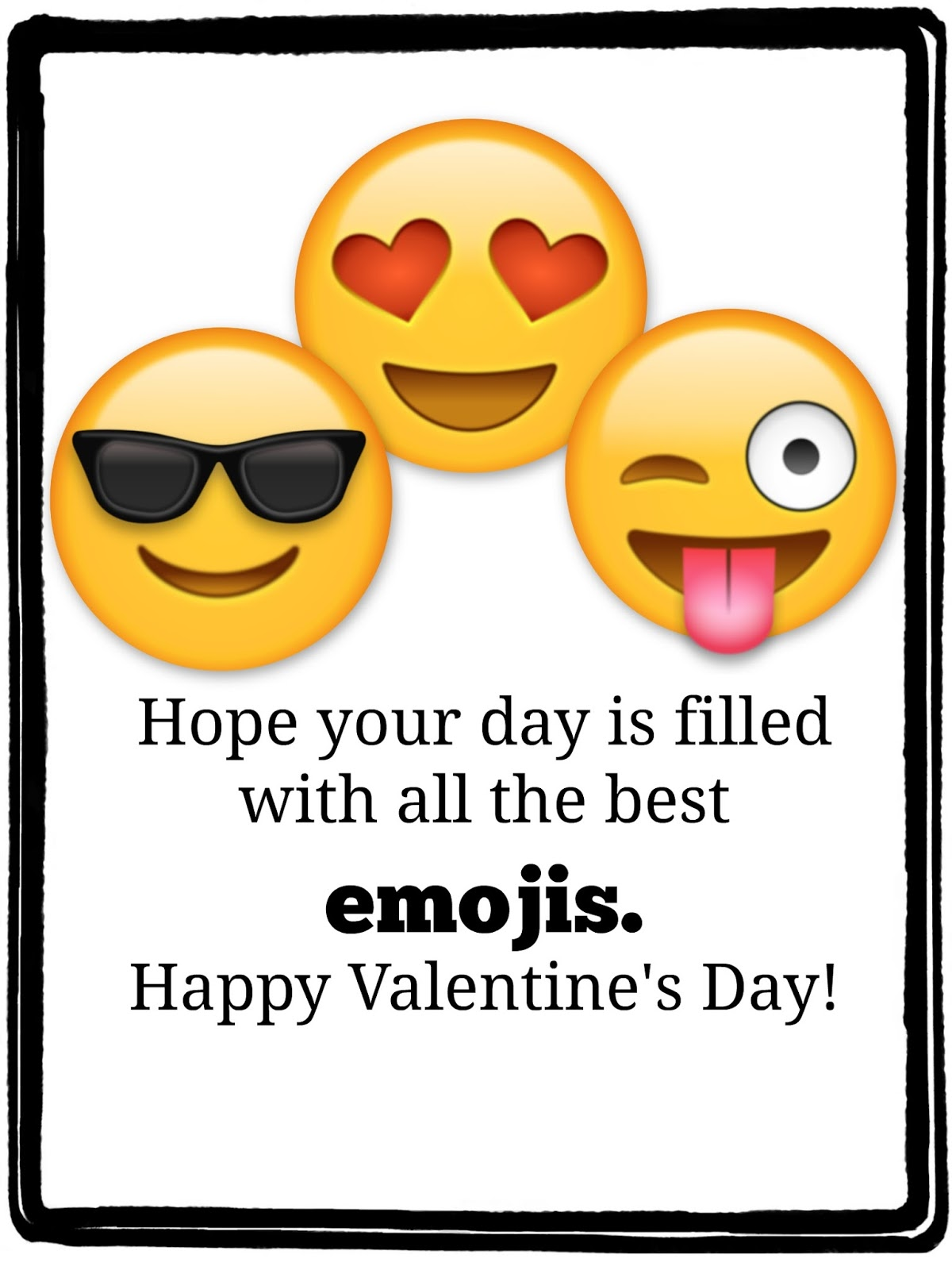 Happy Fathers Day Emoji Valentine