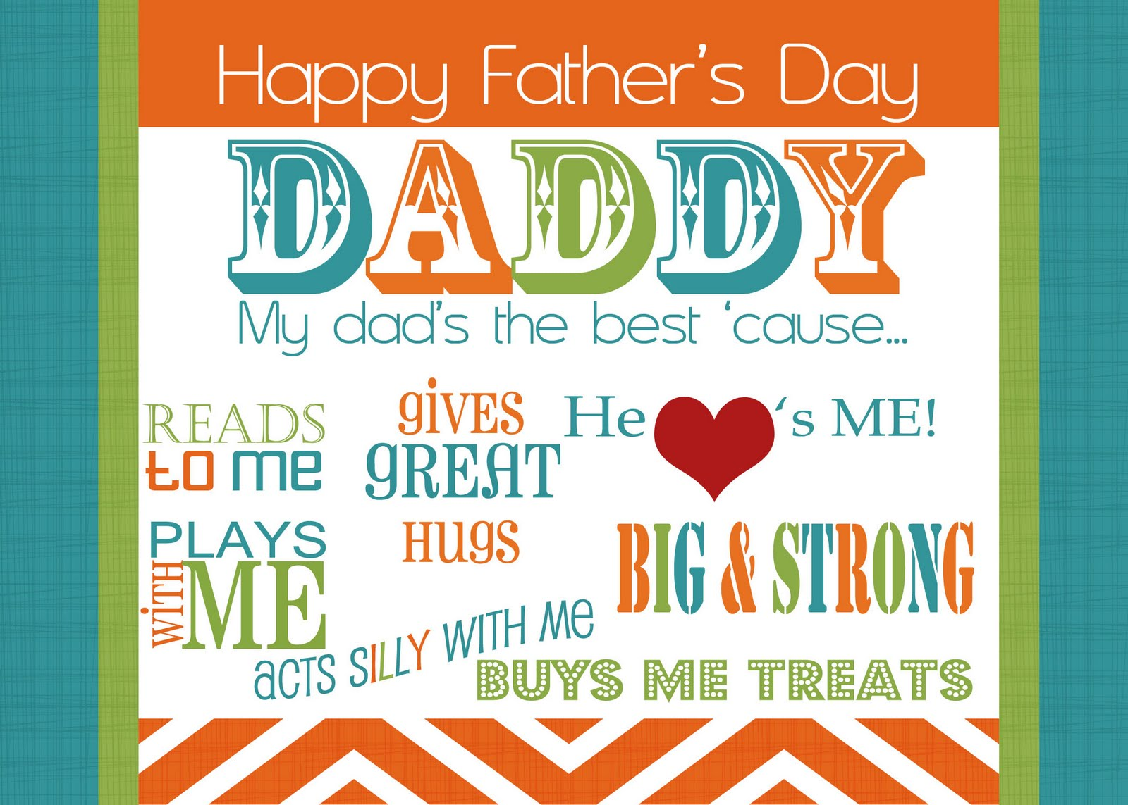 Happy Fathers Day Greetings Best Dad