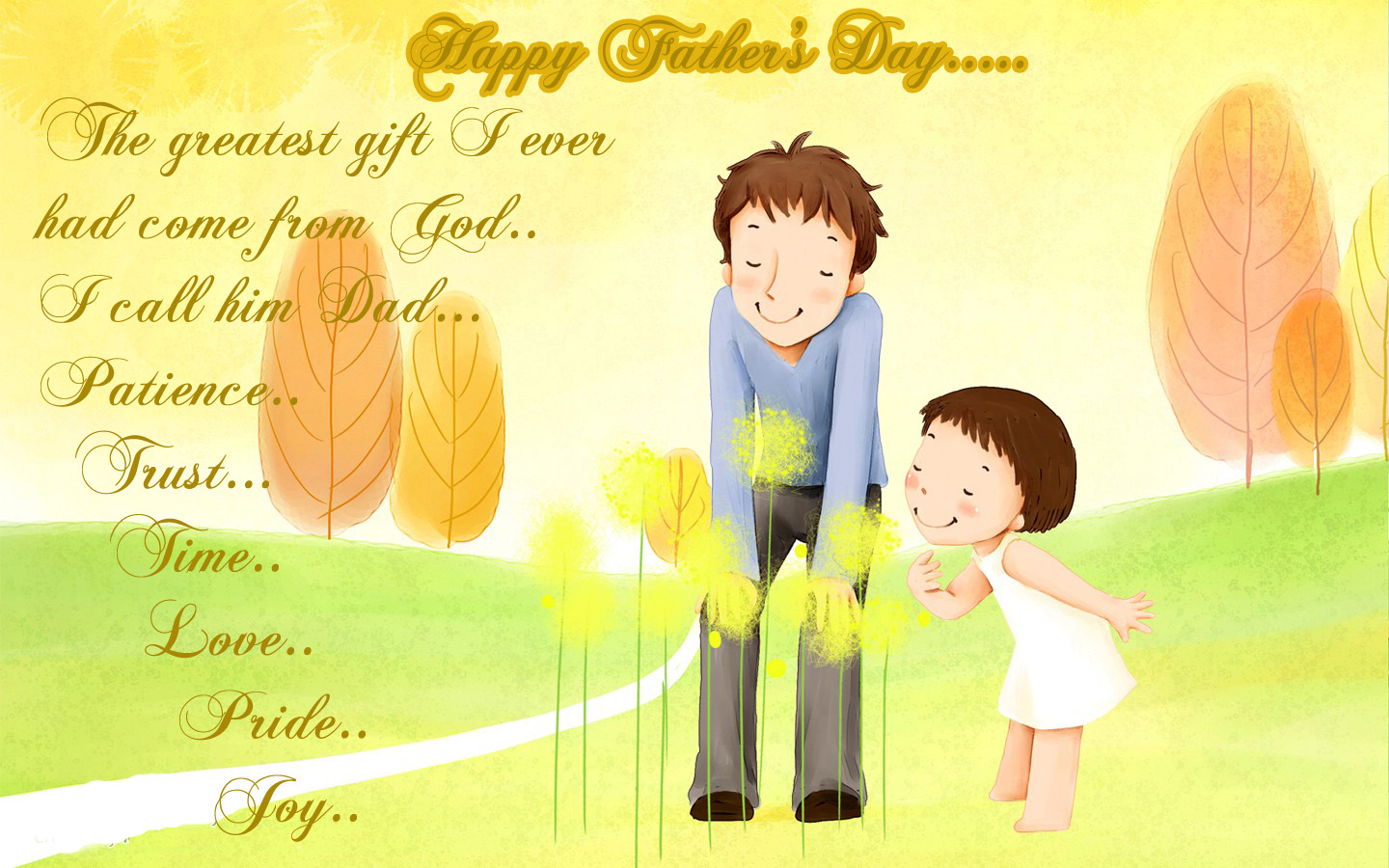Happy Fathers Day Images From Daughter Cute