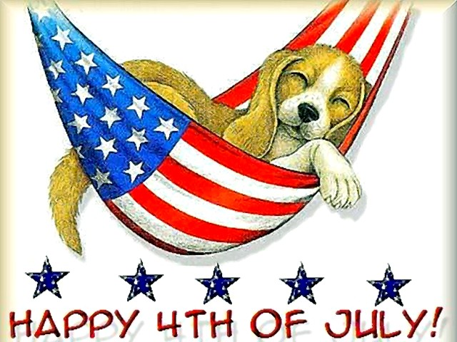 Happy Fourth of July Images With Dog
