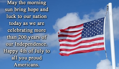 Happy U.S Independence Day 2019 Messages