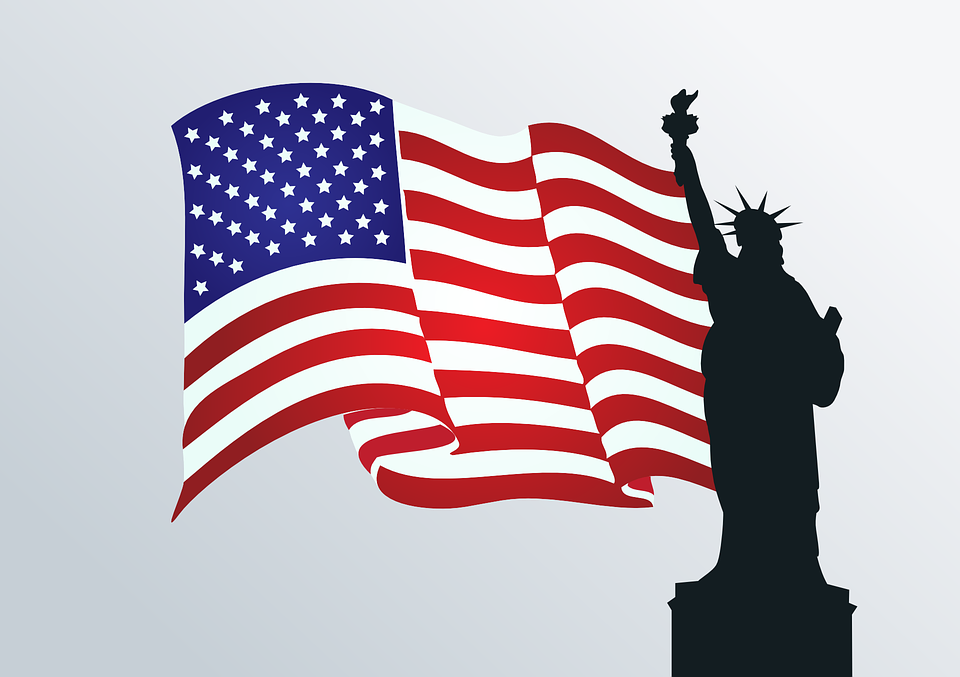 USA Flag Clipart Images